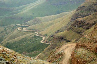"The road to the ""Roof of Africa"""
