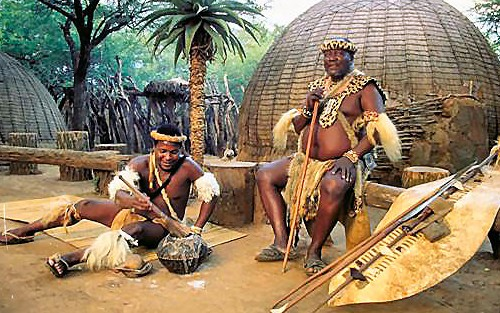 zulu-chief-with-weapons-and-shield cropped